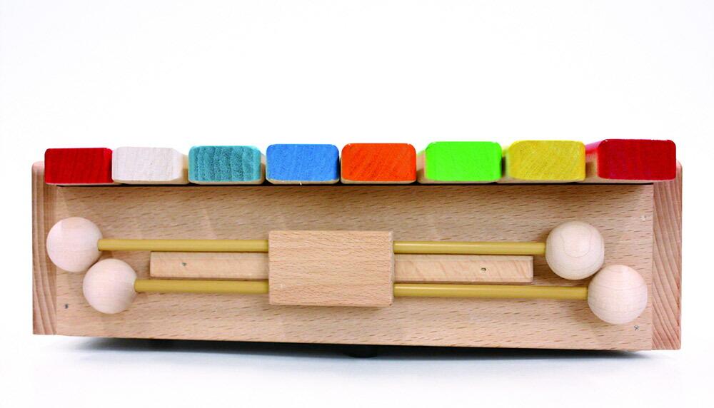 シロホンピアノ Gグランドピアノ型 木製玩具 日本製 関連画像
