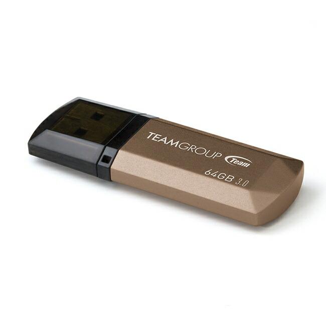 Team 64GB 型番 TC155364GD01 USB3.0 フラッシュメモリー キャップ型 Color Series C155 保証1年<br>スマートフォン、タブレット等の対応機器で御使用頂けます<