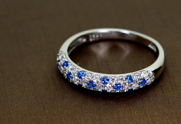 PT900 Total0.12ctアウイナイトパヴェリングTotal0.35ctダイヤモンド
