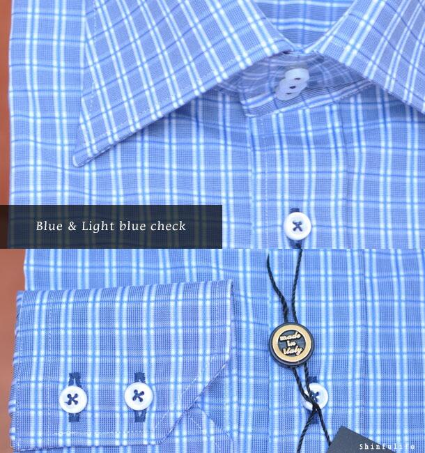 Blue & Light blue check