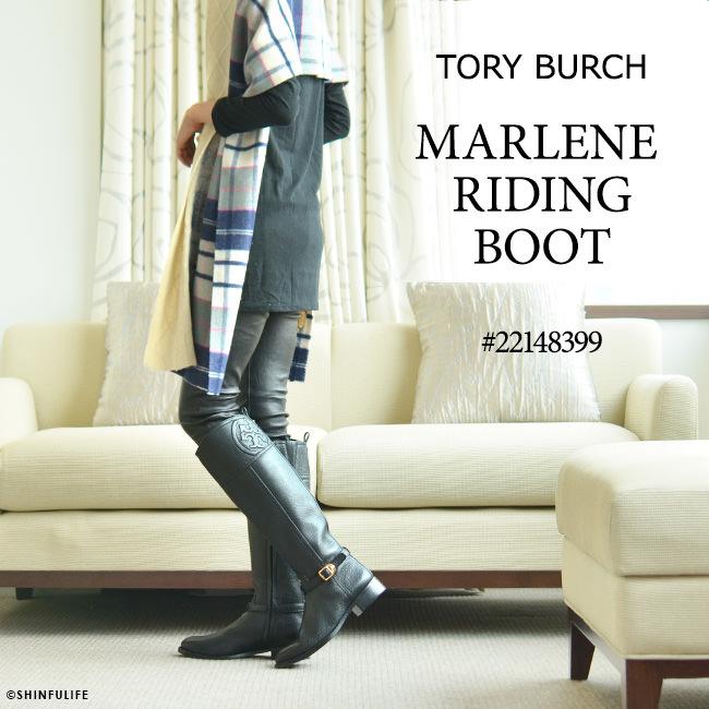 トリーバーチ ブーツ ロング ブーツ マレーネ ライディング ブーツ TORY BURCH 正規品