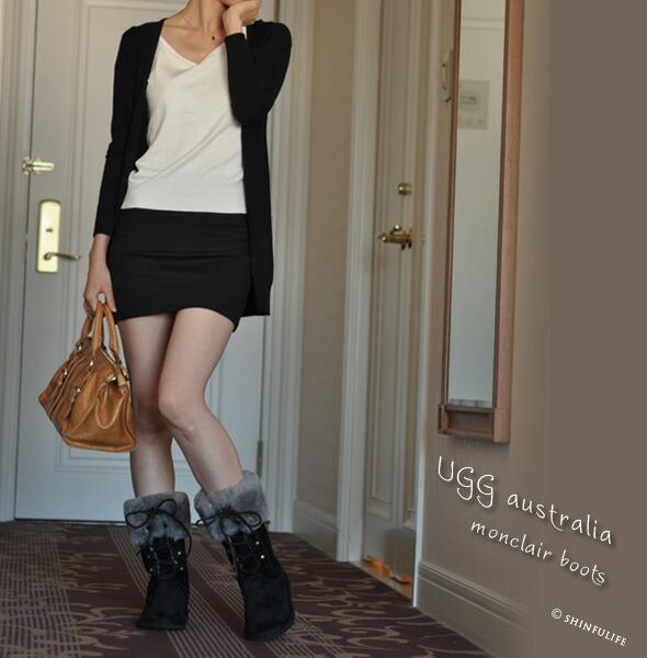 日本でいち早くUGGのムートンブーツ正規品を販売したショップです。[UGG] monclair アグ モンクレアブーツ 1892 編み上げ/人気/ショート/ムートンブーツ/ブーツ/正規品/店舗/通販/UGGブーツ クリーニングも承り中!