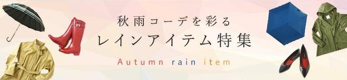 秋雨レインアイテム