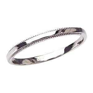 メンズ 地金リング シンプル 男性用指輪 PT900 プラチナ デザインカットリング 宝石なし指輪