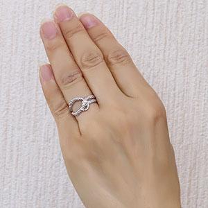 スネーク リング ダイヤモンド 0.01ct へび 蛇 ヘビ 指輪 プラチナ PT900 金運アップ