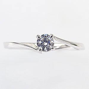 エンゲージリング ダイヤモンドリング ダイヤモンド 婚約指輪 一粒ダイヤモンド