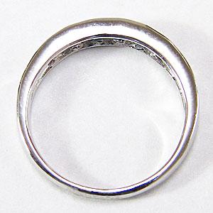 ダイヤモンドリング ダイヤモンド 0.49ct 指輪 4月誕生石 プラチナ PT900 ハーフエタニティー リング