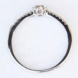 ダイヤモンド リング ダイヤモンド 指輪 ピンクゴールド  K18 花 フラワー