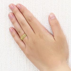 ダイヤモンド リング ダイヤモンド 指輪 イエローゴールド K18