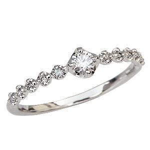 ダイヤモンドリング 指輪 ダイヤモンド 0.17ct プラチナ Pt900 プレゼント 記念日
