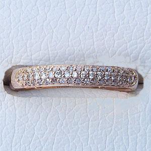 エタニティ ダイヤモンド リング ピンクゴールド エタニティ 指輪 プレゼント ジュエリー