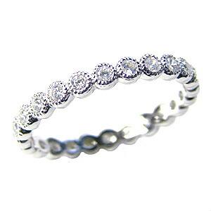 ダイヤモンド リング フルエタニティーリング 結婚指輪 プラチナ PT900 エタニティー