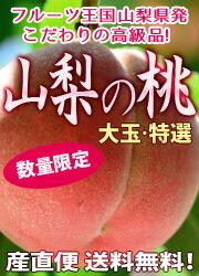 山梨県産おいし〜い桃。今年も登場です!