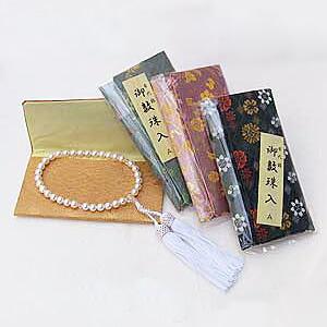 あこや本真珠:念珠:数珠:7mm:片手用:女性用