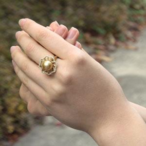 南洋白蝶真珠