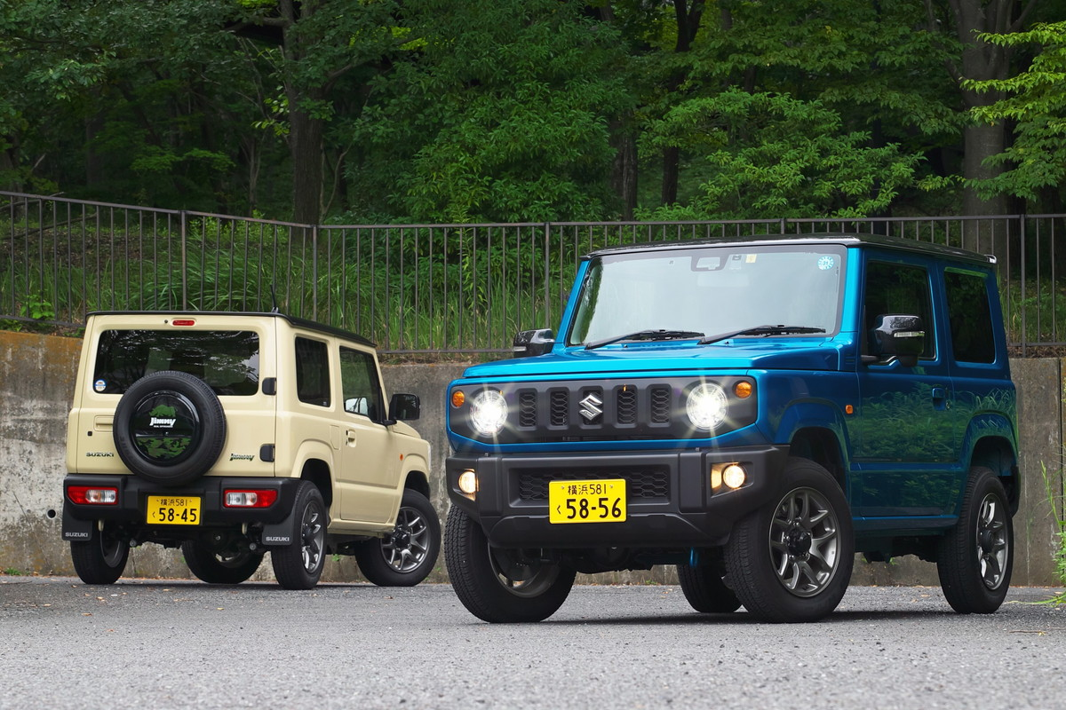 【人気車種試乗&ライバルチェック スズキ ジムニー】XC 0.66Lターボ・5MT・パートタイム4WD