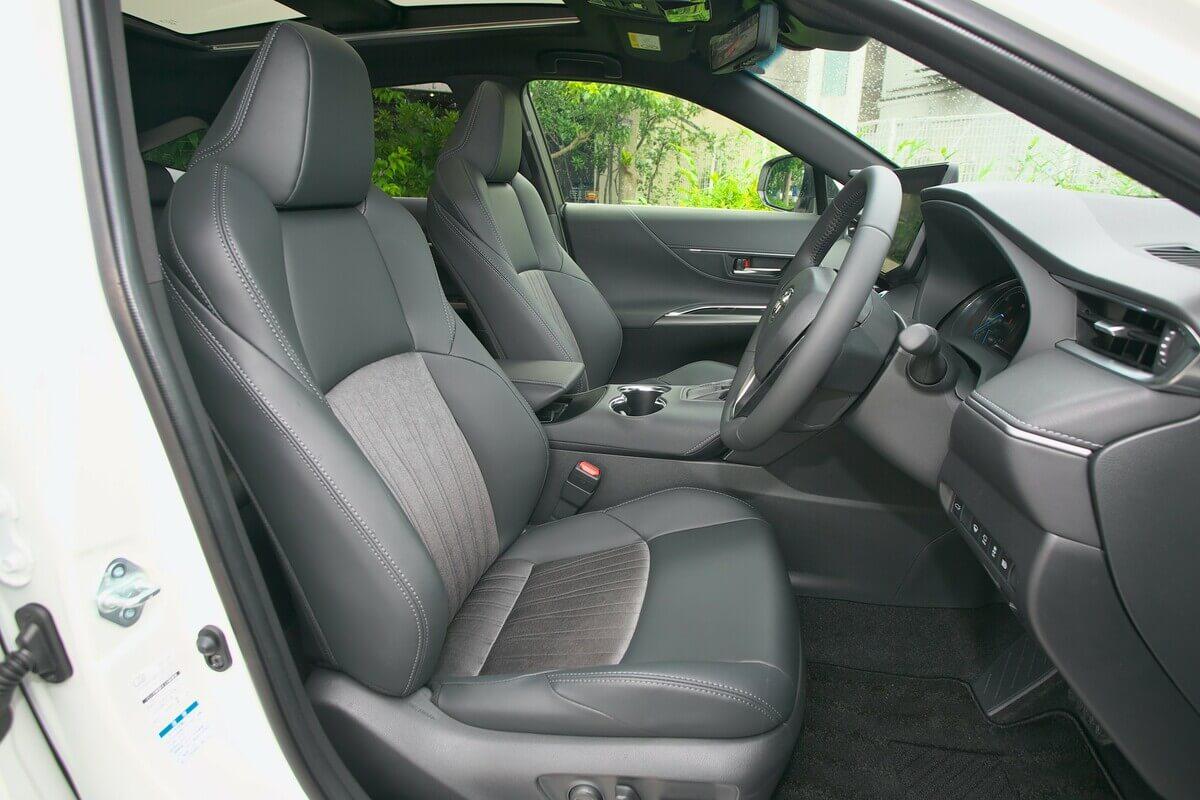 人気車種試乗&ライバルチェック トヨタ ハリアー Z 4WD 2500