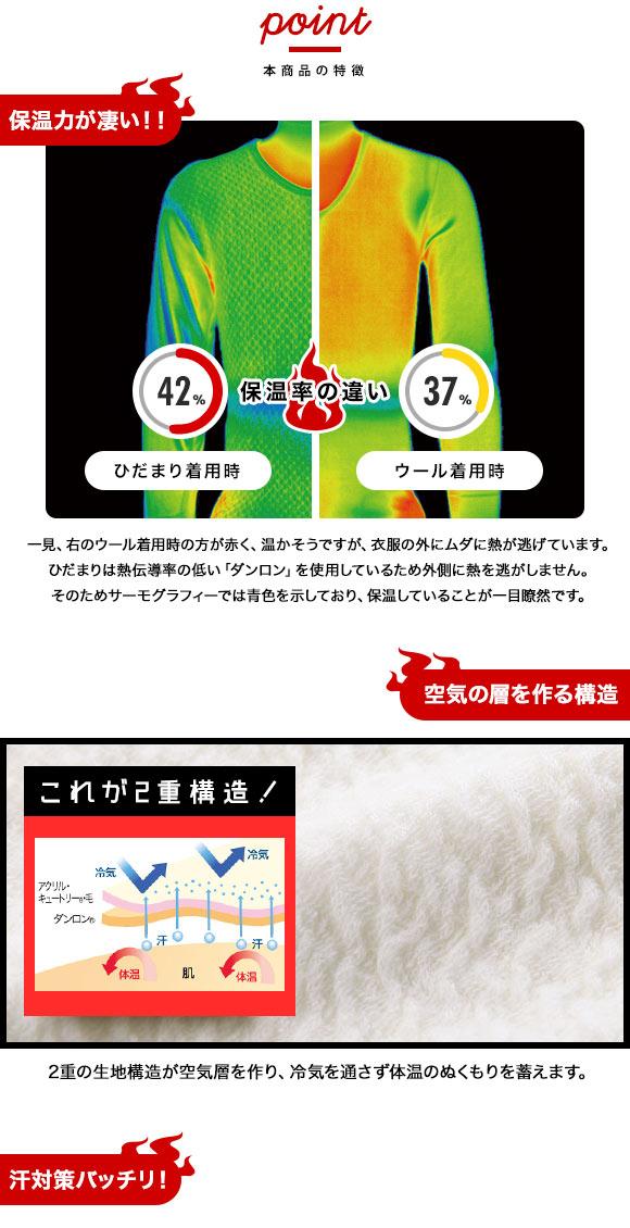 848fc64e71b423 楽天市場】送料無料☆お買い物マラソン期間 (ひだまり和)健康肌着 ...
