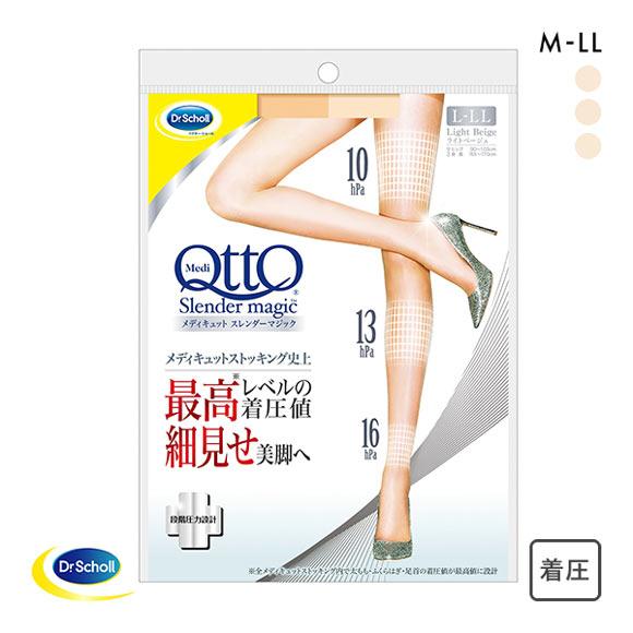 (メディキュット)MediQttO スレンダーマジック 着圧 ストッキング -5cm
