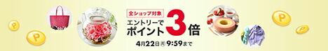 【72時間限定!】エントリーで全ショップ対象3,000円(税込)以上の購入でポイント3倍