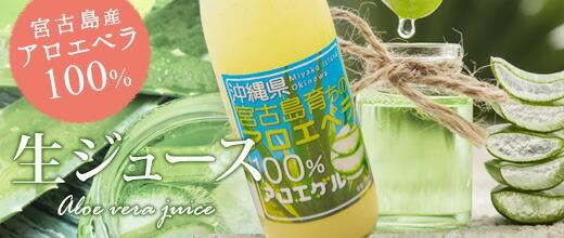 宮古島産アロエベラ100%生ジュース