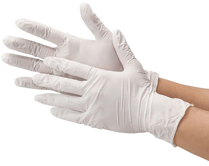 2060 ニトリル使い切り手袋 粉なし