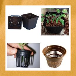 水耕栽培にも使用できる鉢(ポット)