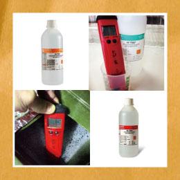 水耕栽培にも使用できるPH値測定器