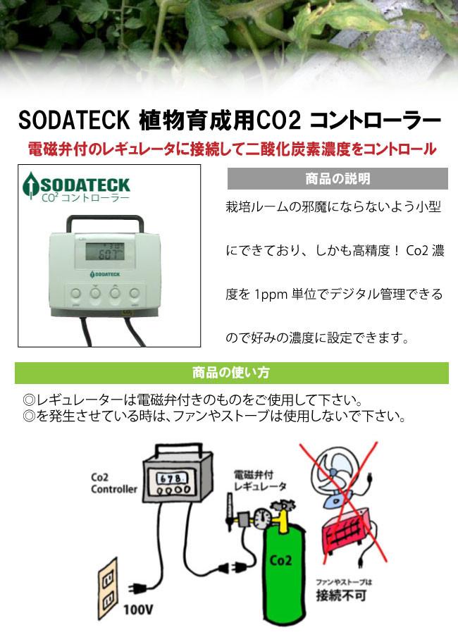 炭酸ガスコントロール