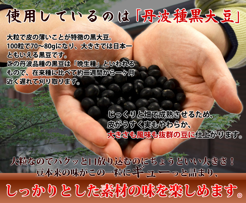 丹波種黒大豆