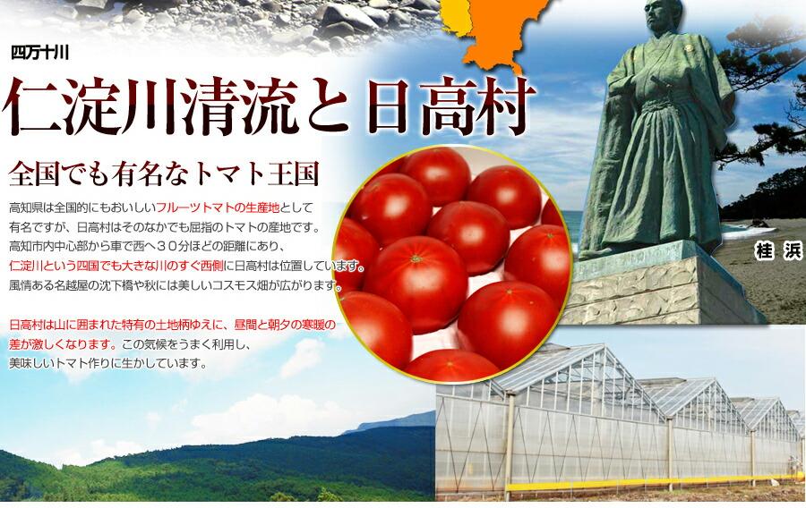 全国的に有名なトマト王国