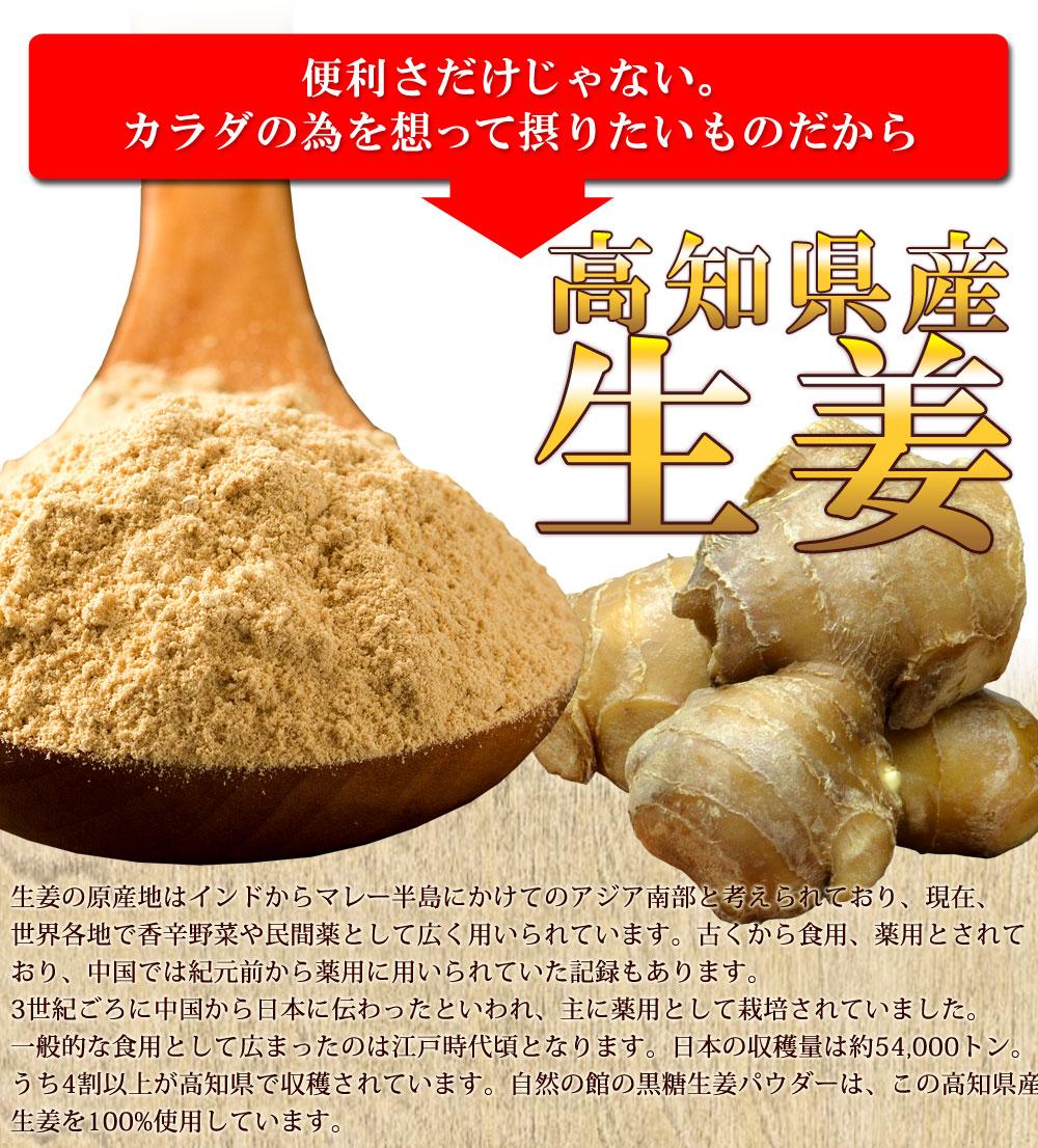 高知県産の生姜100%