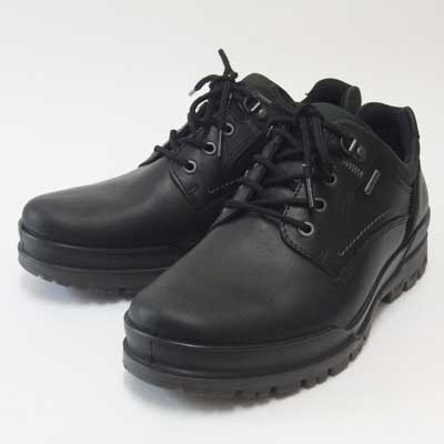 Echo Gore Tex Black Leather Shoes