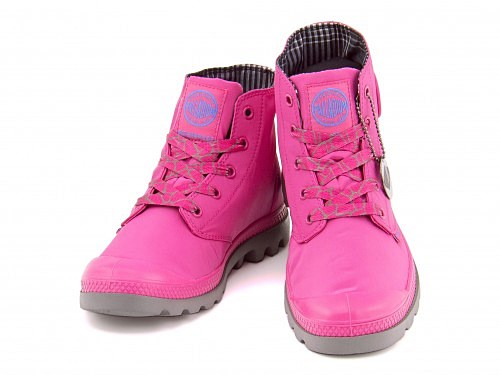 ハイカットスニーカーレインブーツレディースパンパパドルライトウォータープルーフPAMPAPUDDLELITEWP完全防水軽量長靴雨雪靴93085パラディウムPALLADIUM671マゼンタ/メタル