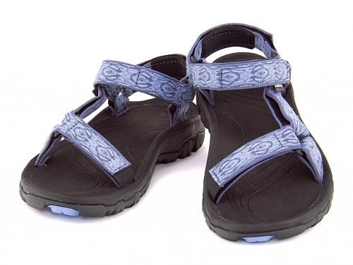 テバレディースサンダルアウトドアスポーツ靴下ソックスコーディネートハリケーンXLTTevaWHURRICANEXLT4176ゼルフィラブルー