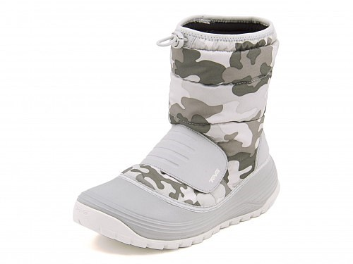 テバレディースウィンターブーツスノーブーツ長靴カジュアルデイリーアウトドア防滑防水雨雪靴ベロブーツ2TevaVEROBOOT21010141カモグレー