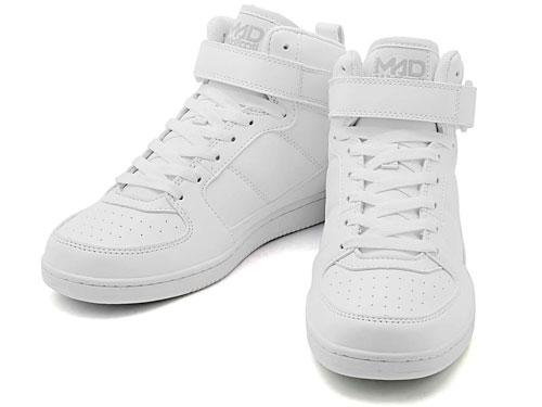 MADFOOT!(マッドフット!)MADLUCK(マッドラック)212101ホワイト/ホワイト(メンズ)