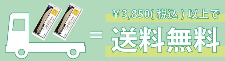 ¥3850以上で送料無料