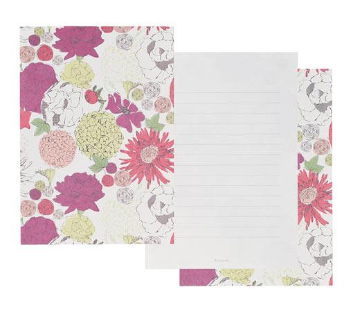 友人への手紙にぴったりな、北欧風デザインなどのかわいい便箋のおすすめを教えてください。