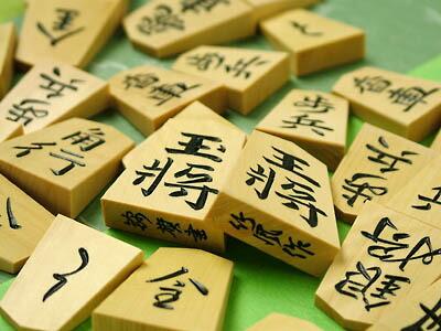 竹風作彫駒錦旗書の写真