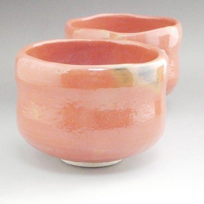【京焼 清水焼】赤楽茶碗(特上)