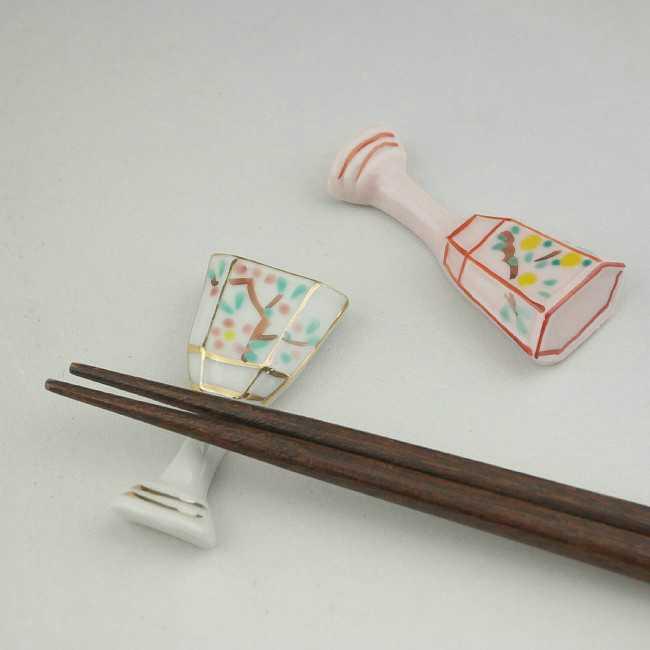 【京焼 清水焼】京のひなまつり箸置き