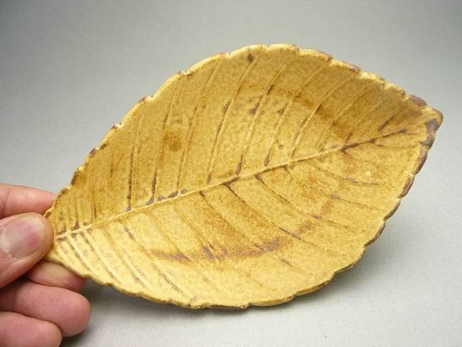 【京焼清水焼】柏の葉