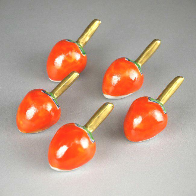 柿の箸置き