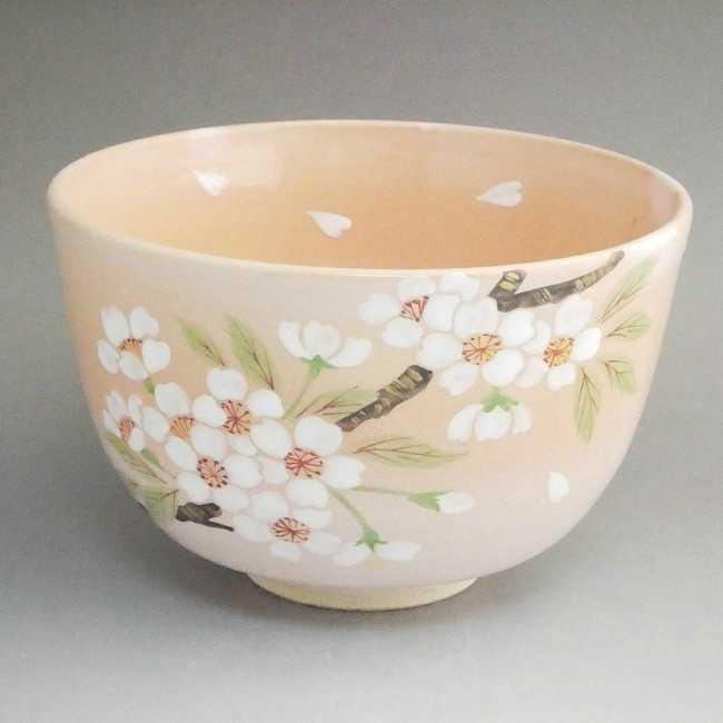 抹茶碗 千本桜
