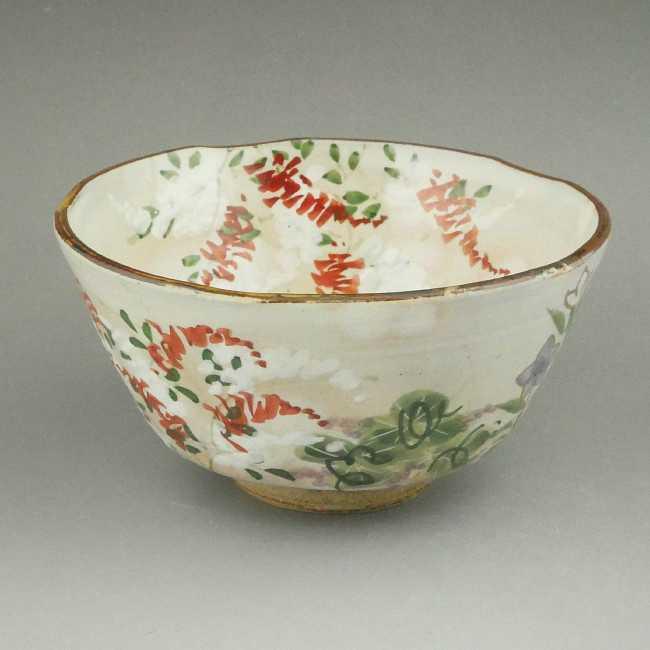 京の秋ご飯茶碗 清水焼 俊山