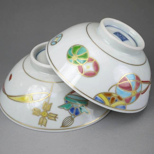【京焼清水焼】ひな茶碗