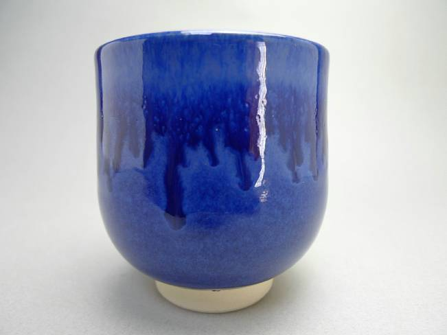 青釉湯呑み