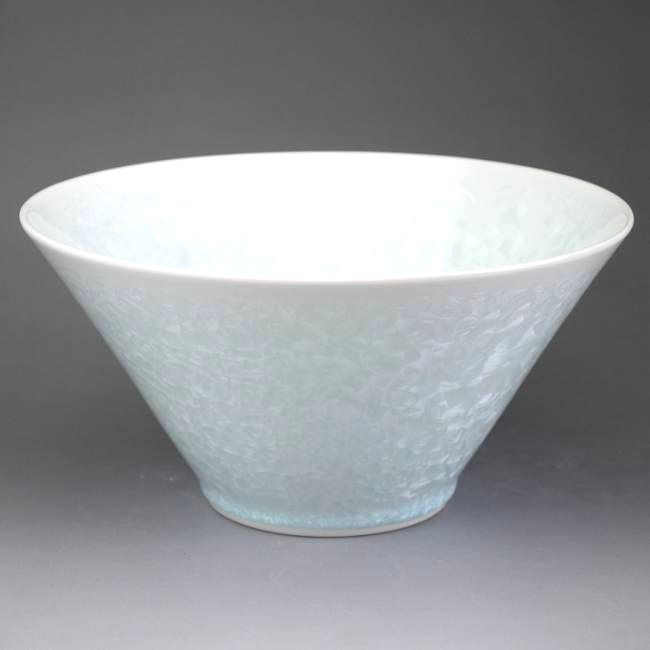 結晶釉 菓子鉢