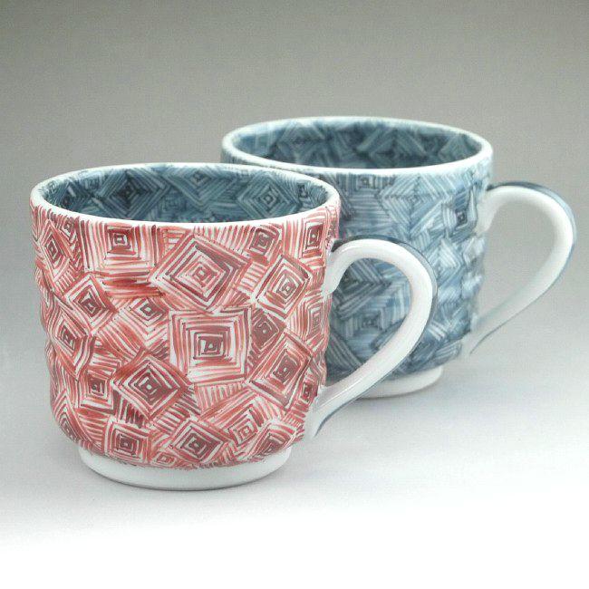 鳥獣戯画絵巻マグカップ